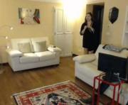 Hidden cam's couple webcam room