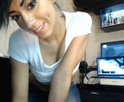Evelyne's webcam sex show