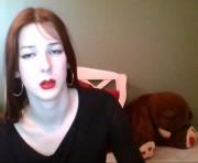 Lana snow's shemale webcam room