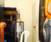 Mateo's male webcam room