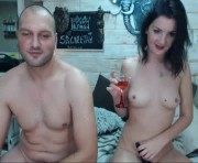 Chris and Chantelle's live sex show