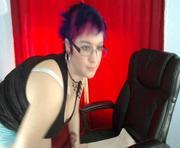 Aymee Brown's live sex show