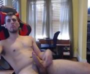 whitemeat321's male webcam room